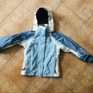 THE NORTH FACE GIRLS WINTER JACKET WITH HOOD